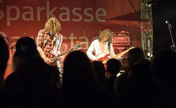 Mind The Gaep @ Schlossgrabenfest Darmstadt 2012 - Foto: Torsten Geyer